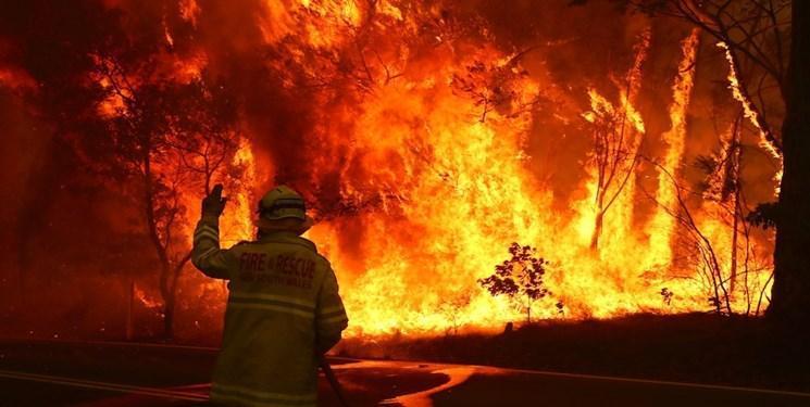 آتش نشانان استرالیایی: آتش سوزی از کنترل خارج شده است