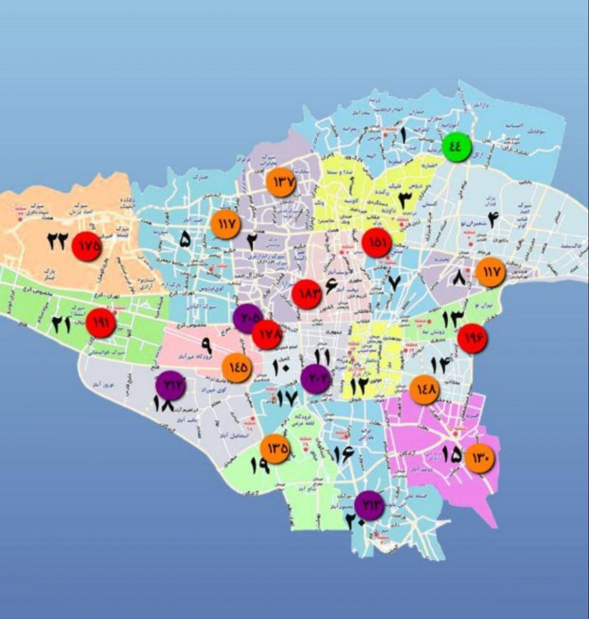 شاخص آلودگی هوای دانشگاه تهران به 183 رسید، اما دانشگاه تعطیل نشد!