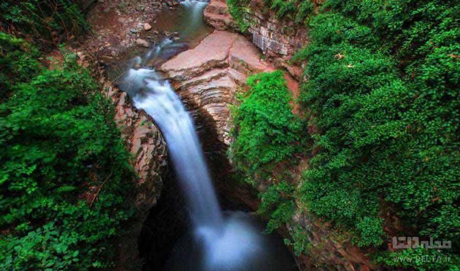 آبشار ویسادار ؛ لوند و دلبرانه