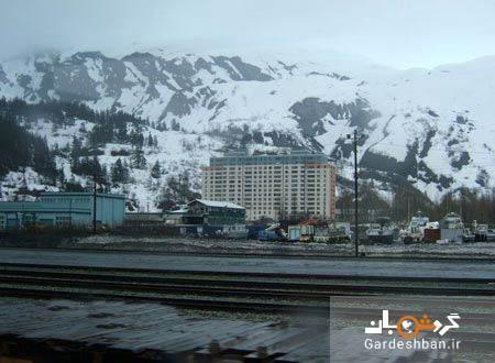 شهر ویتیر آلاسکا؛ منطقه ای به اندازه یک مجتمع مسکونی!