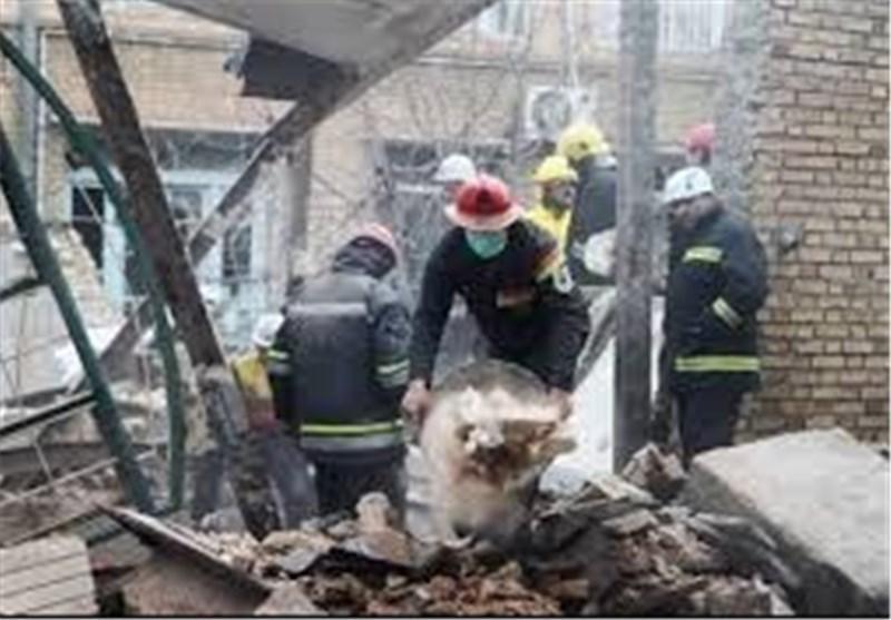 انفجار ساختمان مسکونی در قیطریه