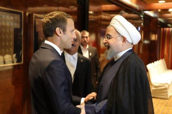 ماکرون خواهان پاییندی ایران به تعهدات هسته ای است!
