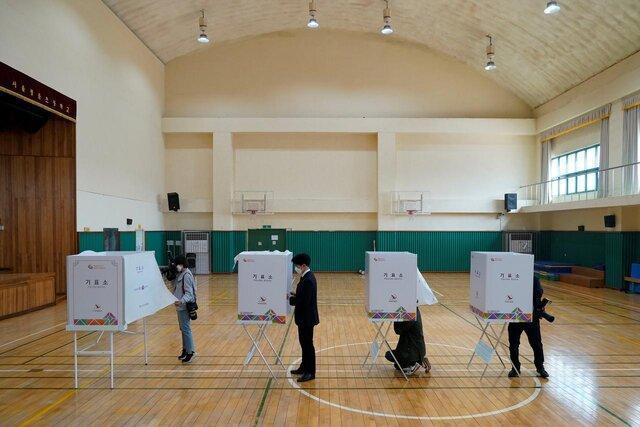 برگزاری انتخابات پارلمانی در کره جنوبی تحت تدابیر امنیتی شدید بحران کرونا