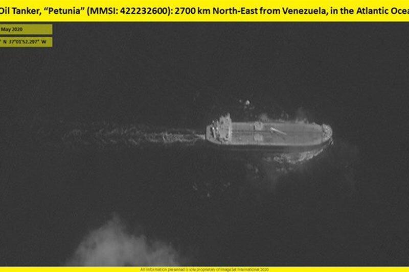 نفتکش ایرانی وارد آبهای ونزوئلا شد، عکس