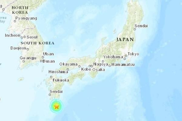 زلزله ای با قدرت 6.3 ریشتر جنوب ژاپن را لرزاند