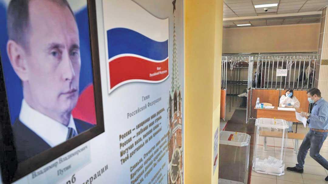 آری به پوتین، نه به مخالفان