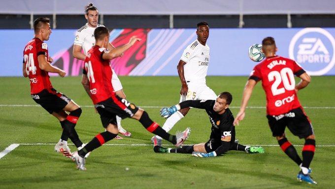 رئال مادرید 2 - 0 مایورکا؛ تیم زیدان بیخیال صدر نمی گردد