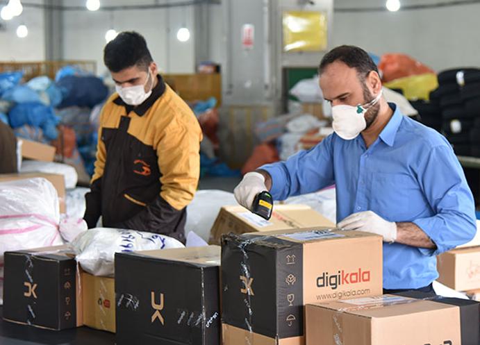 مرسولات خرید اینترنتی در استانهای اصفهان و کردستان افزایش یافت
