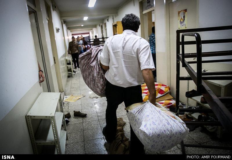 اسکان دانشجویان در خوابگاه دانشگاه ارومیه با رعایت پروتکل های بهداشتی انجام می گردد