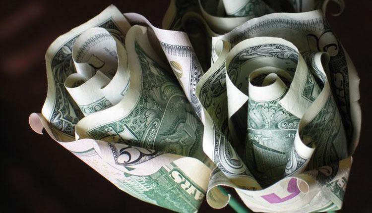 آموزش درست کردن گل با پول در خانه