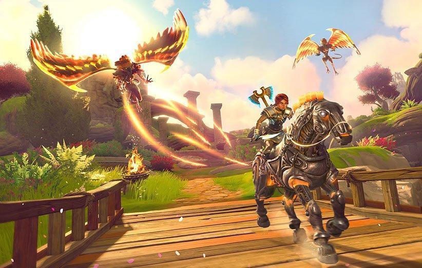 بازی Immortals: Fenyx Rising برای تمام پلتفرم ها رونمایی شد