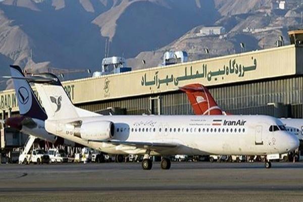کاهش 26 درصدی پرواز های فرودگاه مهرآباد