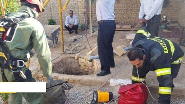 سقوط مرگبار در چاه، جان مرد 44 ساله را گرفت
