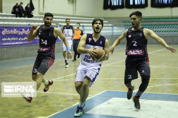 خبرنگاران سه مسابقه از لیگ دسته یک بسکتبال در مشهد برگزار شد