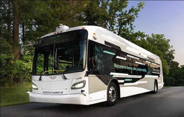 اتوبوس خودران مجهز به فناوری سطح 4 آزمایش شد