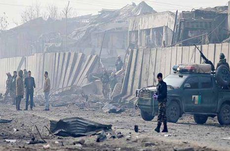 وقوع 2 انفجار در پایتخت افغانستان خبرنگاران