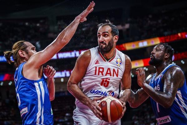 تیم ملی بسکتبال ایران ملاقات افتتاحیه المپیک را بازی می نماید