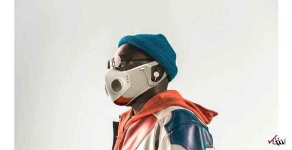 ماسک صورت با فناوری پیشرفته و بلوتوث