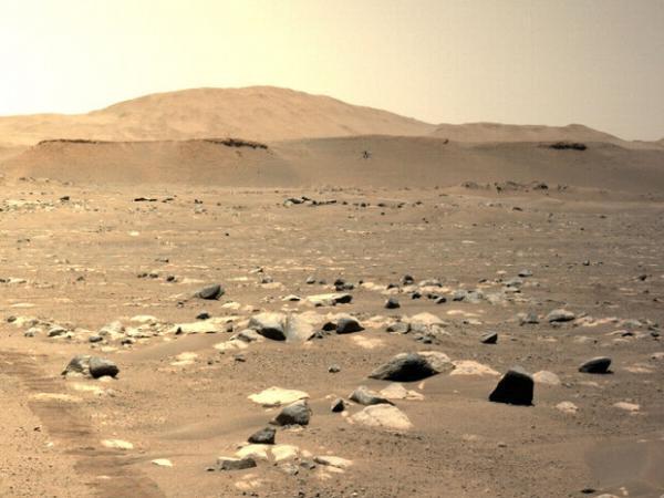 سومین پرواز هلی کوپتر مریخی فیلمبرداری شد