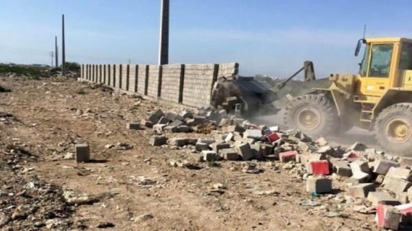 تخریب 13 مود ساخت و ساز غیرمجاز در استان قزوین